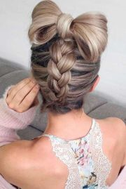 fun braided updo