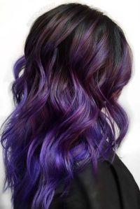 15 Trendy Purple Balayage Hair Ideas - Styleoholic