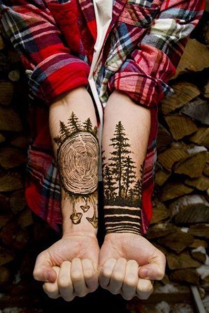 Tree Tattoos For Men : tattoos, Amazing, Tattoo, Ideas, Styleoholic