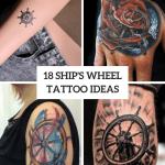 18 Incredible Ship Wheel Tattoo Ideas Styleoholic