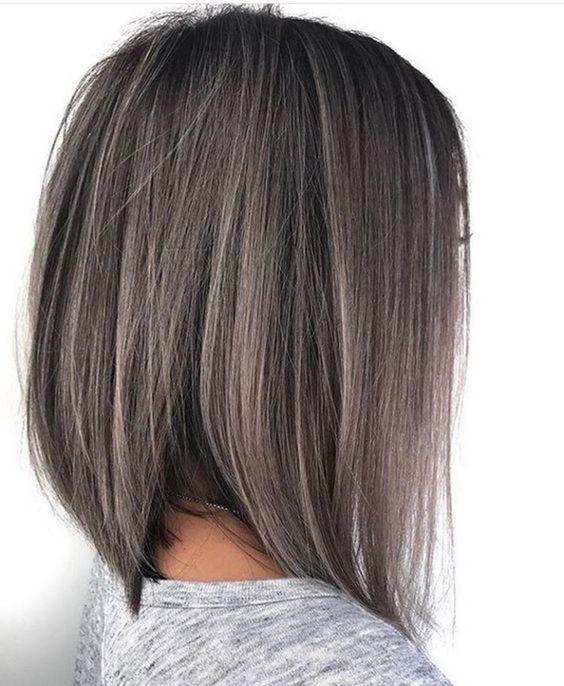 Long Bob Ombre Black Hair Quaebella