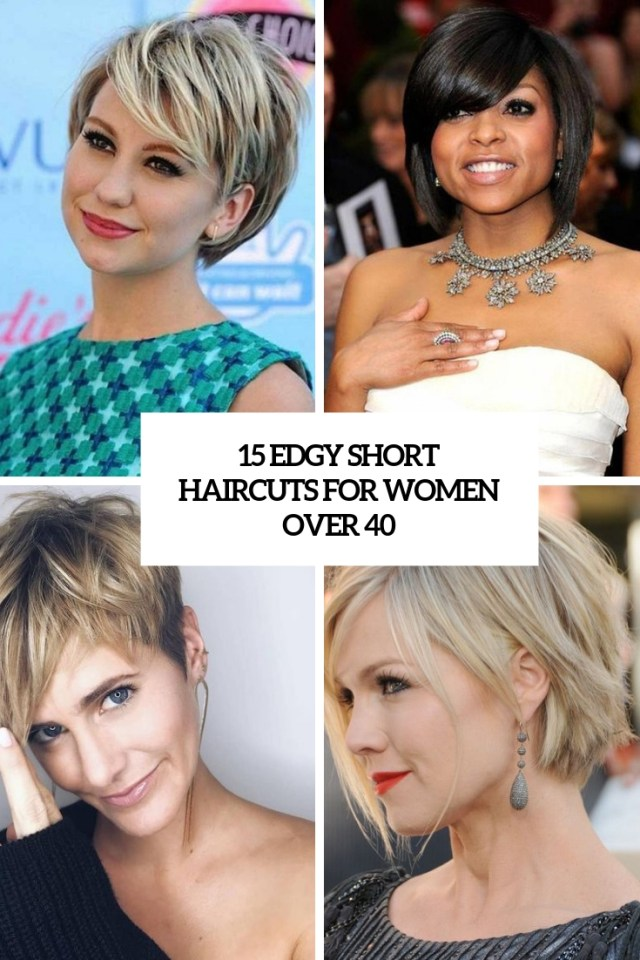15 edgy short haircuts for women over 40 - styleoholic