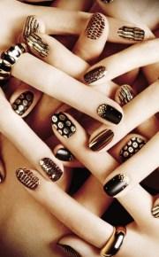 pretty party nails ideas