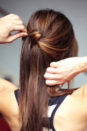 chic diy cascading knotted