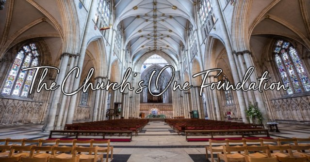 Image result for church's one foundation