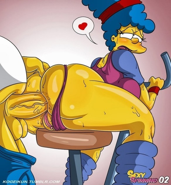 simpsons anal