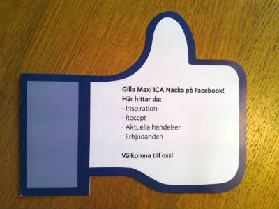ica maxi facebook hand 400x300 - The Best Advice On Using Facebook For Marketing