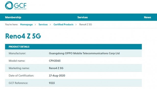 oppo-reno4-z-5g-y1p8 Ucuz fiyatlı Oppo Reno4 Z 5G geliyor! Haberler Mobil Teknoloji