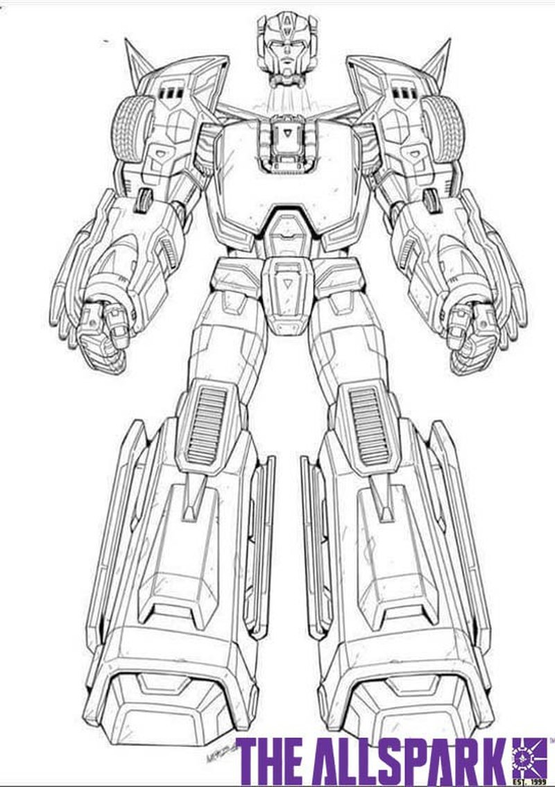 Titans Return Hot Rod First Look At Color Guide And