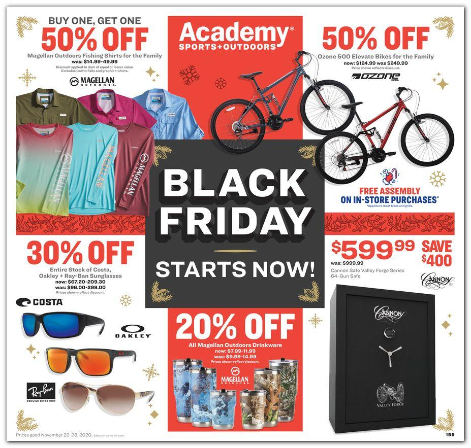 Credit cards allow for a greater degree of financial flexibility than debit cards, and can be a useful tool to build your credit history. Academy Sports Outdoors Black Friday 2021 Ad And Deals Theblackfriday Com
