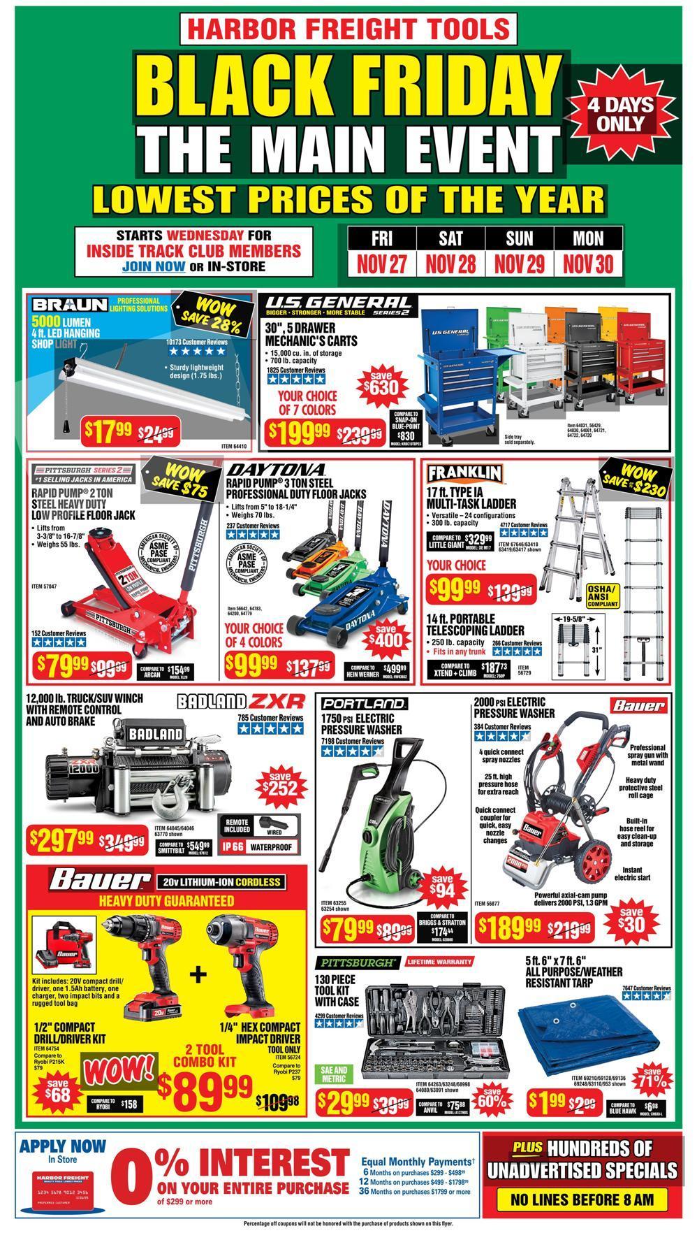 Harbor Freight Ridgecrest : harbor, freight, ridgecrest, Harbor, Freight, Tools, Black, Friday, Deals, TheBlackFriday.com