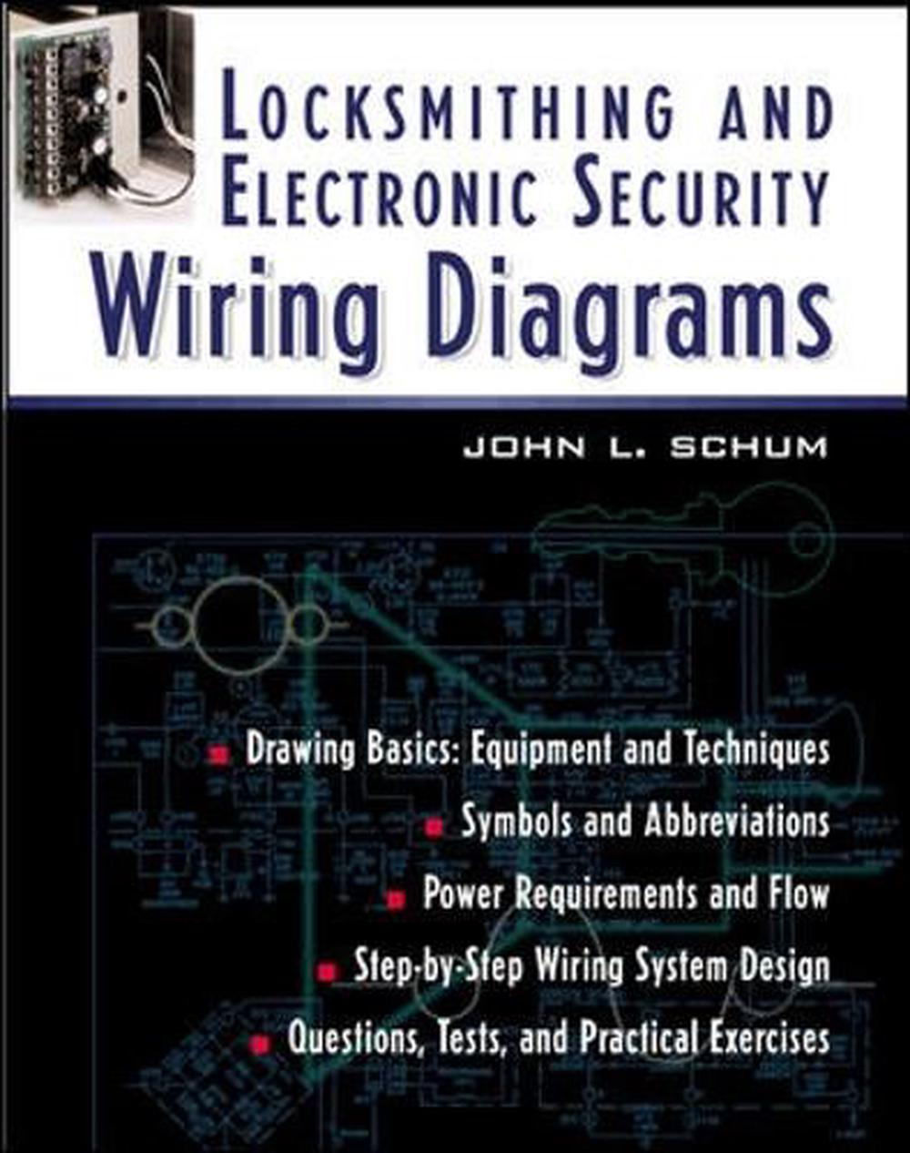 details about locksmithing and electronic security wiring diagrams by j l schum english pap [ 1000 x 1266 Pixel ]