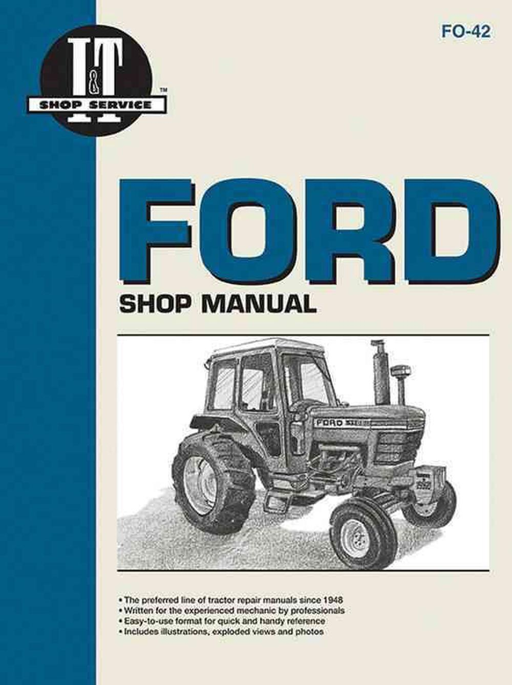 hight resolution of ford 5610 wiring wiring libraryford shop manual series 5000 5600 5610 6600