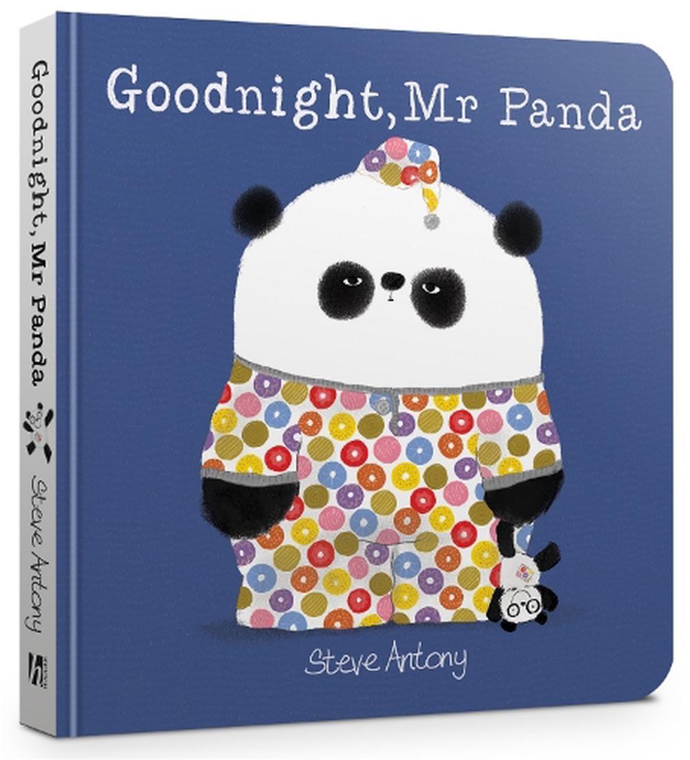 Goodnight. Mr Panda Board Book by Steve Antony (English) Board Books Book Free S 9781444944662   eBay
