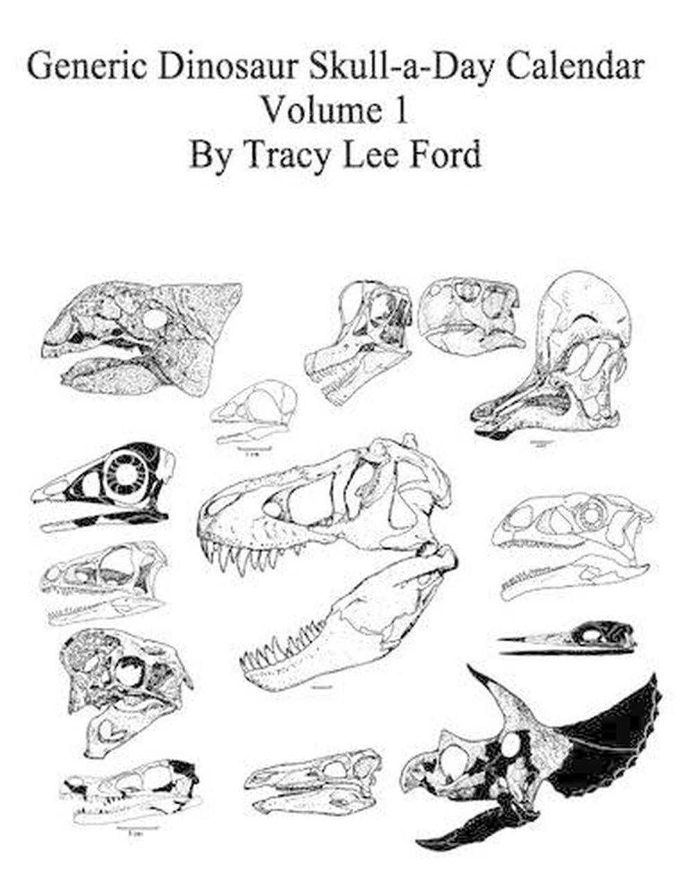 Generic Dinosaur Skull-A-Day Calendar, Volume 1: 366