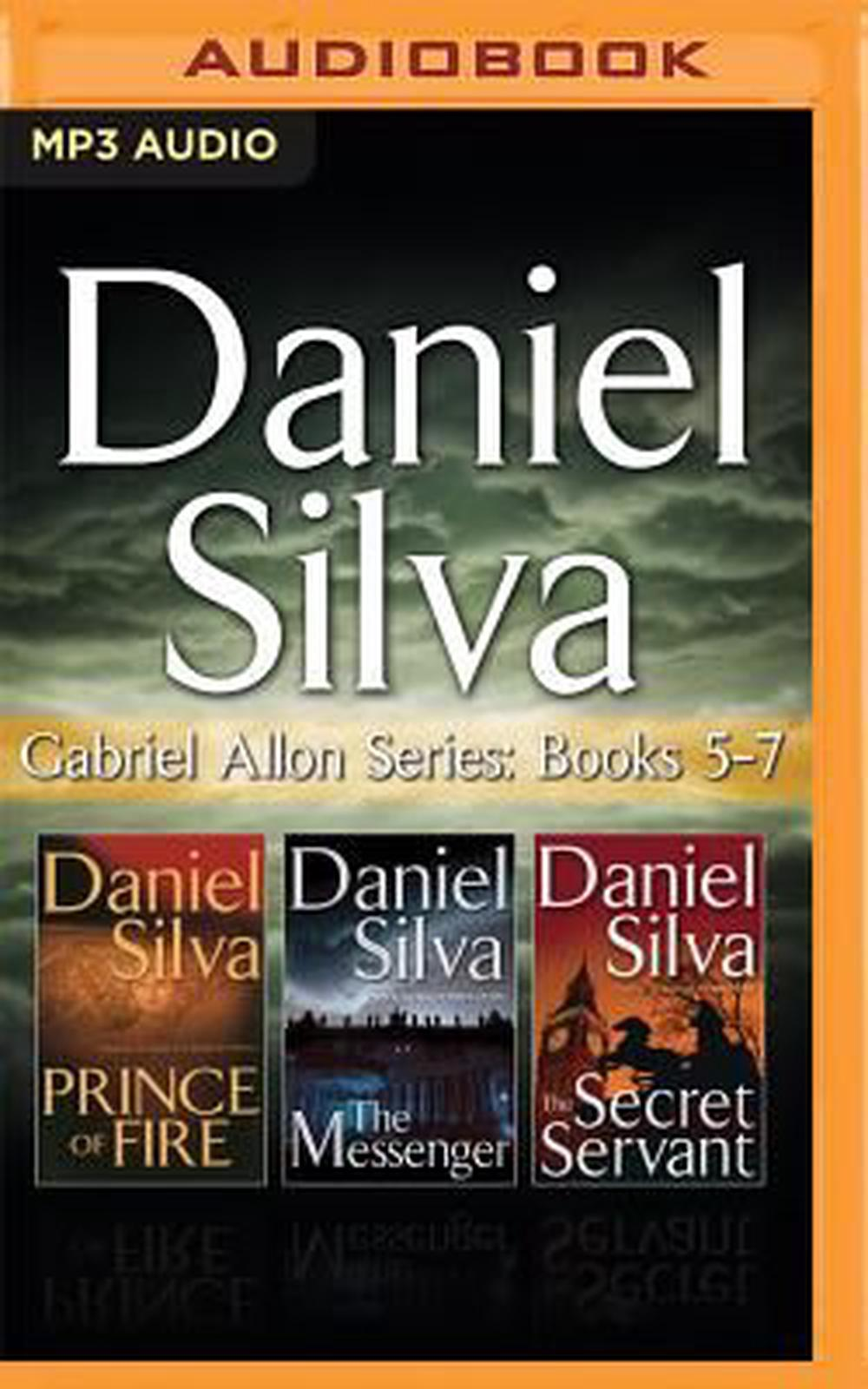 Daniel Silva Gabriel Allon Series Books 5 7 Prince Of Fire The