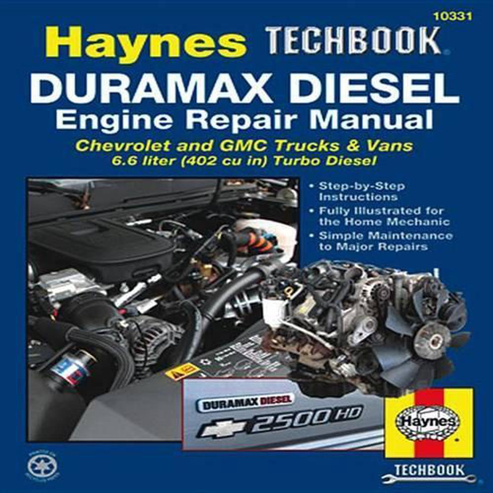 hight resolution of duramax diesel engine repair manual chrevrolet and gmc trucks vans 6 6 liter 402