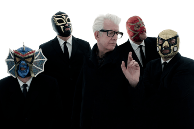 Image result for Nick Lowe's Quality Rock & Roll Revue Featuring Los Straitjackets