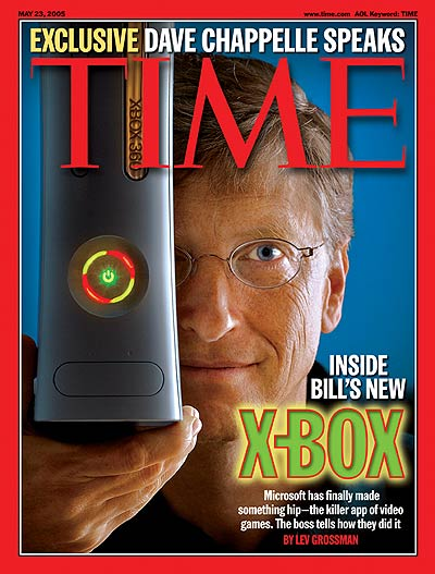 TIME Magazine Cover: Inside Bill's New X-Box - May 23, 2005: Bill Gates, Microsoft, Technology -- Click for Table of Contents