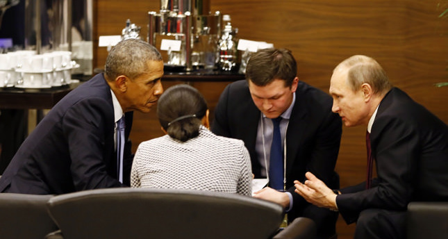 Putin-Obama discussion © İHA Photo