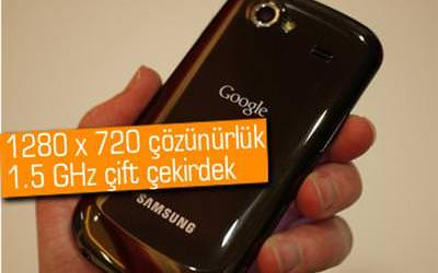 Android 4.0 Ice Cream Sandwich'li ilk telefon: Google Nexus Prime