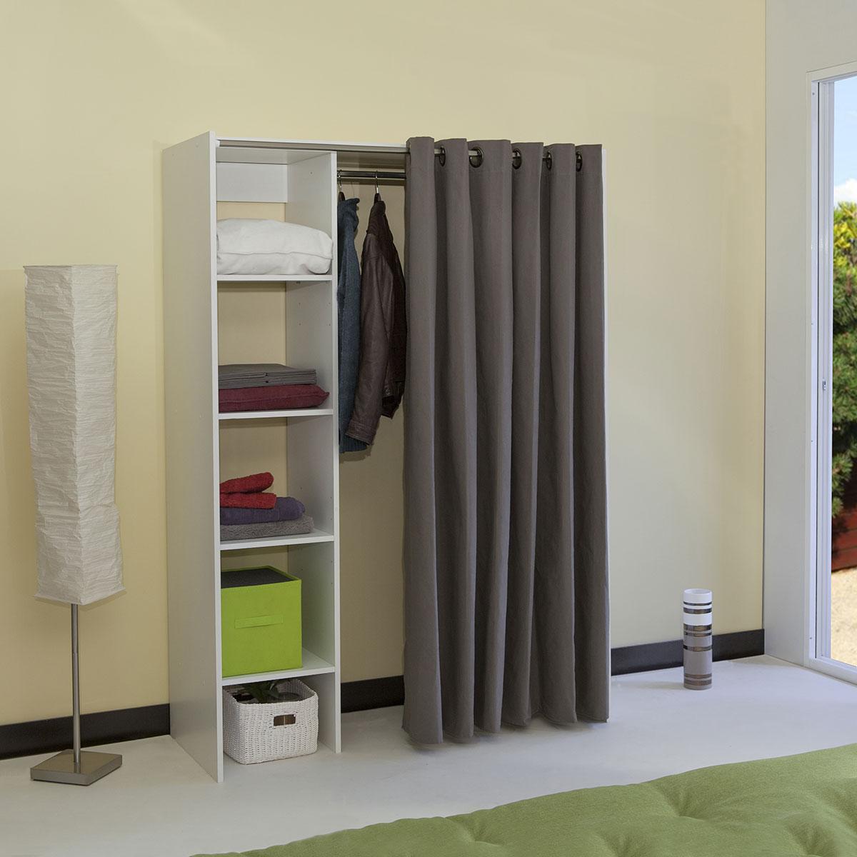 armoire dressing extensible 1 colonne