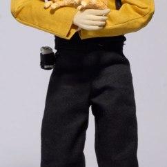 Star Trek Captains Chair Wedding Covers Warrington Trek: The Next Generation 1:6-scale Action Figures - Toys News ...