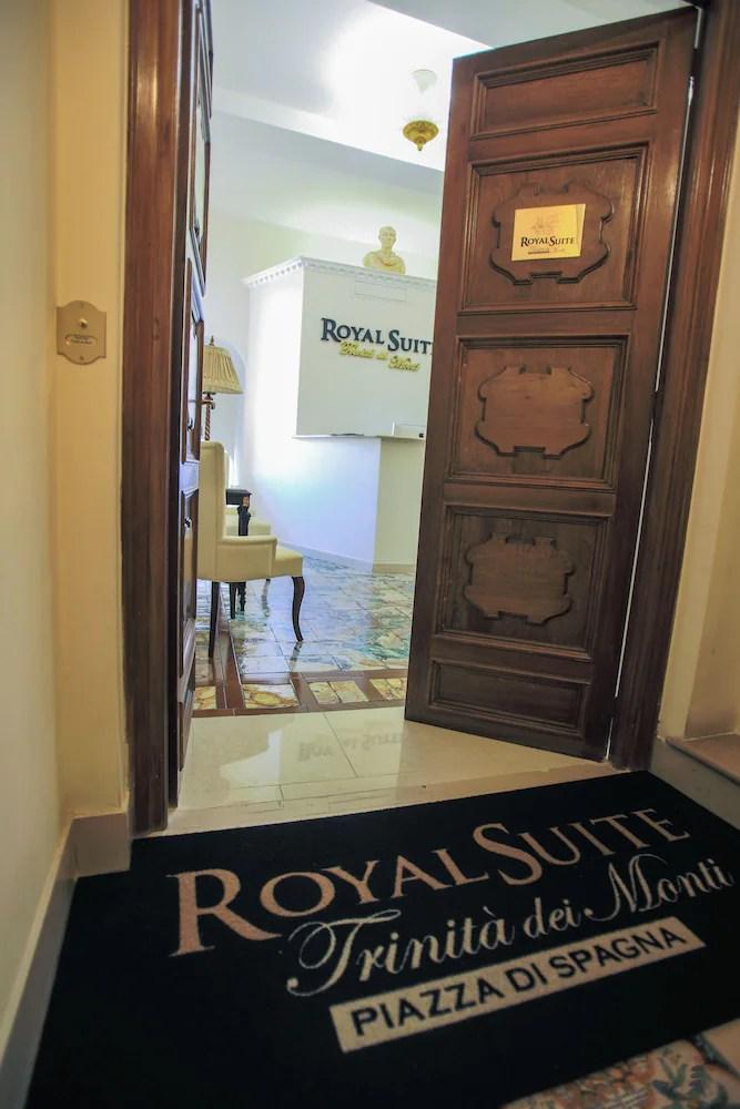 Royal Suite Trinita Dei Monti Qantas Hotels