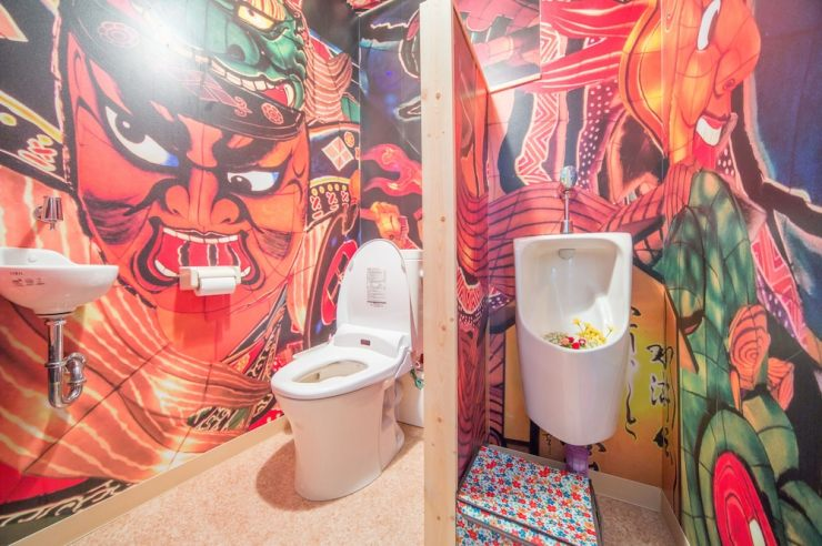 도쿄 게스트하우스 게스트하우스 와사비 화장실