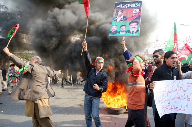 Fourth case registered against PTI activists, leaders