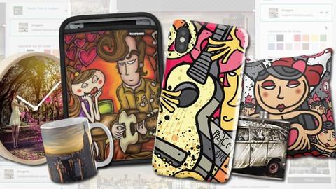 Aprenda a personalizar productos con su arte y obtenga regalías