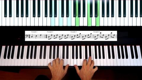 Curso de piano nível intermediário (por música e ouvido)