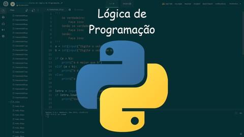 Lógica de Programação e Algoritmos com Python e exercícios!