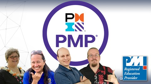 PMP: The Complete PMP Course & Practice Exams PMBOK 6 2020