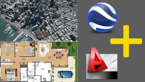 Curso completo de AutoCad Map e Google Earth
