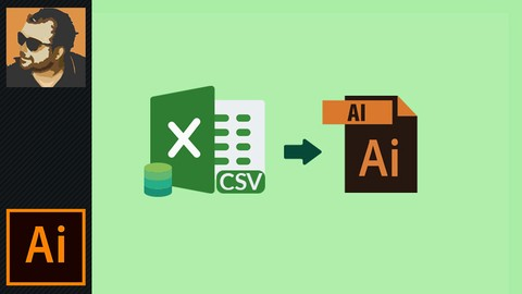 [Udemy Coupon] How to Use Dynamic Data with Variables in illustrator 2