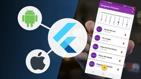 Aprenda Flutter & Dart e Construa APPs iOS e Android [2020]