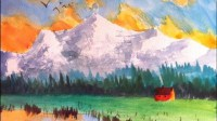 Paint this Mountain: Watercolor painting in 3 EASY steps ...