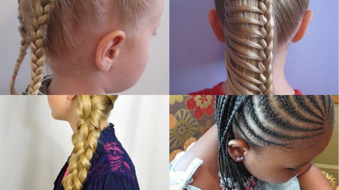 25 idees de tresses pour petite fille