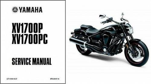 2002-2010 Yamaha Road Star Warrior 1700 Service Manual on