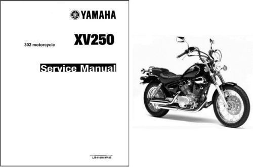 1988-2008 Yamaha Virago 250 XV250 Service Repair & Parts