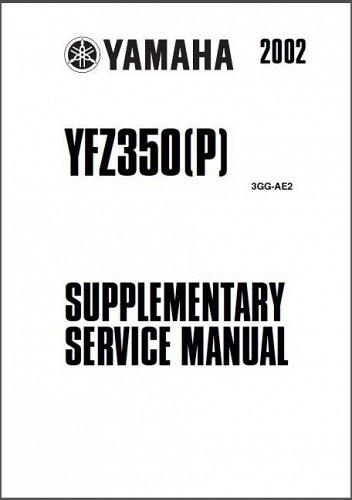 87-08 Yamaha YFZ350 Banshee 350 ATV Service Repair Manual