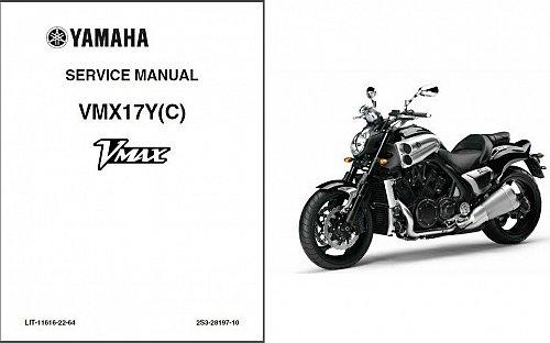 2009-2016 Yamaha VMX1700 V-MAX Service Repair Manual CD