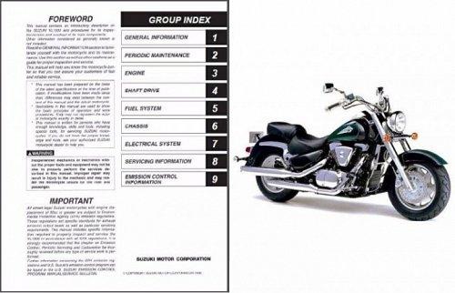 1998-2009 Suzuki Intruder 1500 ( VL1500 ) / Boulevard C90