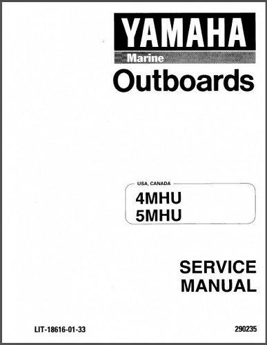 1996-2001 Yamaha 4 / 5 HP ( 4MHU 5MHU ) 2-Stroke Outboard