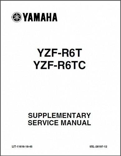2006-2007 Yamaha YZF-R6 / YZF-R6S Service Repair Workshop