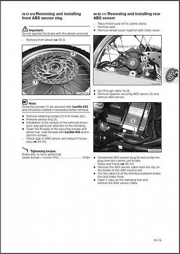 2000-2007 BMW F650GS / Dakar RepROM Service Repair Manual