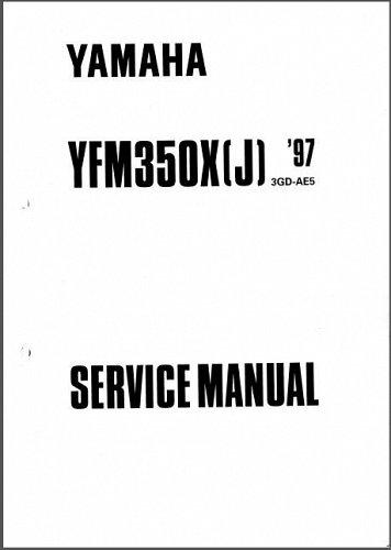 97-09 Yamaha YFM350 Warrior / Raptor 350 ATV Service