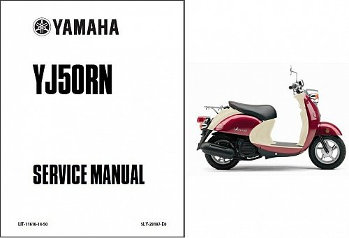 2001-2005 Yamaha Vino 50 / YJ50 Scooter Service Manual on