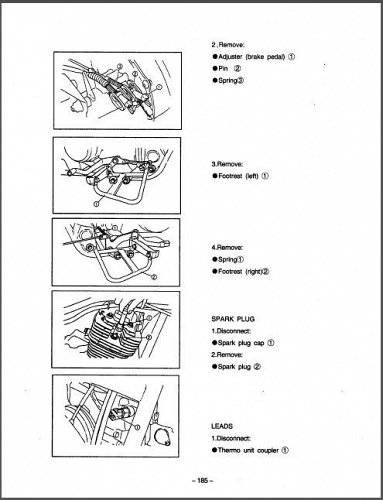 Jianshe JS400 Mountain Lion ATV Service Manual on a CD
